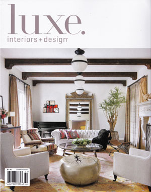 LUXE INTERIORS + DESIGN March 2013